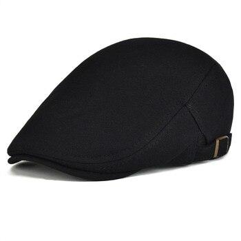 VOBOOM de algodón Casual irlandés gorra de Golf Ivy Jeff tapas de los  hombres las mujeres taxista vendedor conductor Gatsby sombrero ajustable  Boina 039 db76506b6ca