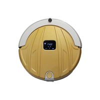 Vacuum Robot Home Cleaner Wifi Remote Control 1000Pa Timing Dry Wet Cloth Suction Sweep Auto Charge
