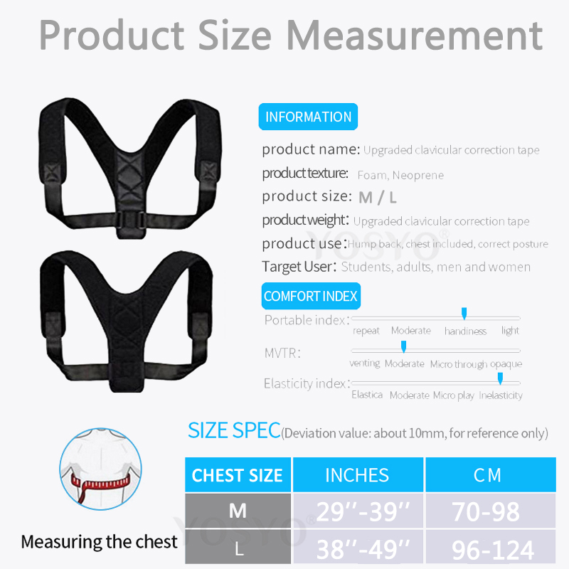 HTB1WUeaJxTpK1RjSZFMq6zG VXaa - Brace Support Belt Adjustable Back Posture Corrector