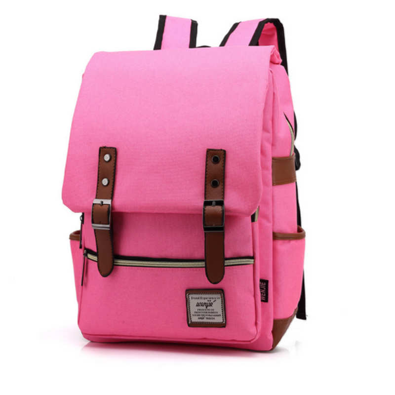 2018 Vintage Rucksacks Canvas Backpacks School Bags for Teenagers Boys Girls Large Capac ...