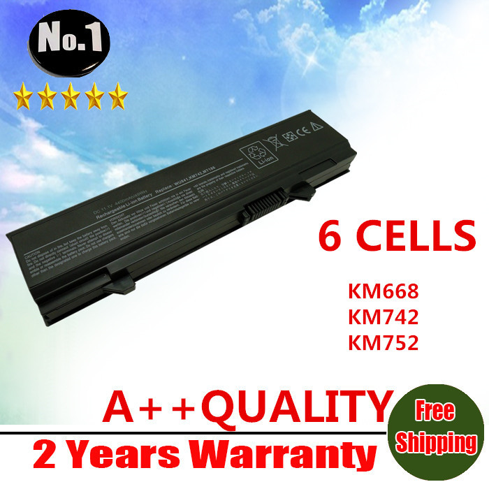 WHOLESALE New 6CELLS Laptop Battery For Dell Latitude  E5400 E5500 E5410 E5510 KM668 KM742 KM752 KM760  Free shipping wholesale new 6 cells laptop battery for dell latitude d620 d630 d630c d631 series 0gd775 0gd787 0jd605 0jd606 free shipping