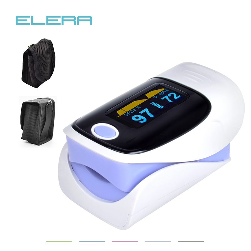 ELERA Digital oxímetro de dedo de pulso, dedo oxímetro de pulso, de Oxigênio no Sangue spo2 saturação oxímetro oxímetro de pulso