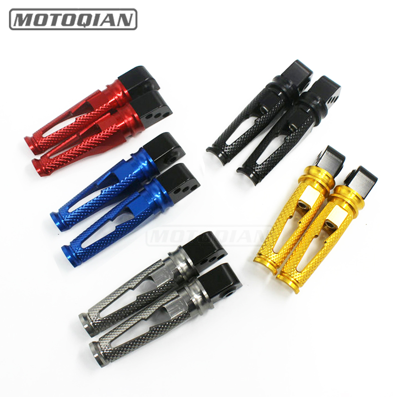 For Yamaha FZ-1 FZ-6 XJ6 FZ6R Motorcycle  Parts CNC Aluminum Rear Footrests Foot Pegs Pedals