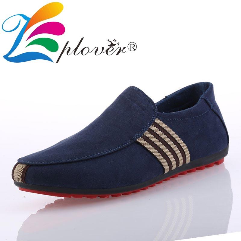 Plates bleu Rouge Sapato Masculino Fond Hommes Toile Nouveau 2018 Chaussures Respirant Noir Casual Mocassins Conduite ulFK1TJc53
