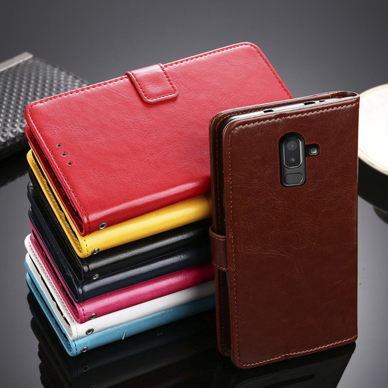 J8 2018 Case For Samsung J8 2018 case Cover Wallet Flip Leather pouch For Samsung Galaxy J8 2018 J800 J800FN J810F J810 case bag