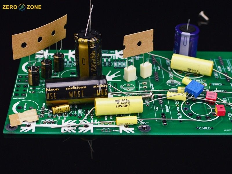 ZEROZONE DIY kit PRT 09A Hi end Tube buffer preamp base on Musical Fidelity X 10D L7 56-in Amplifier from Consumer Electronics    1