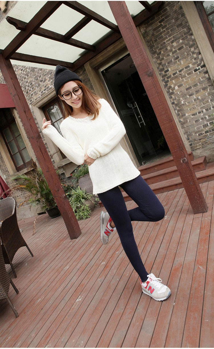 Women Clothing Leggings High Waist Leggings Maternity Clothes Winter Leggings Thickened Pregnant Women Trousers Warm Pants 2016 8