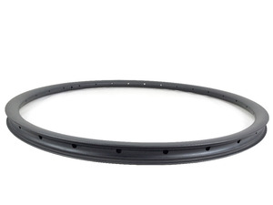 Image 5 - 29er 27.5er 650B MTB XC 28mm hookless carbon rim asymmetric clincher tubeless 25mm deep UD 3K matte glossy 24 28 32 Holes wheel