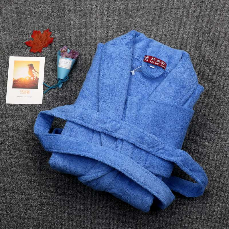 Cotton Winter Bathobes Men Warm Robe Long Mens Bathrobe Male Dressing Gown Homewear Pijama Male Kimono robe Size XL