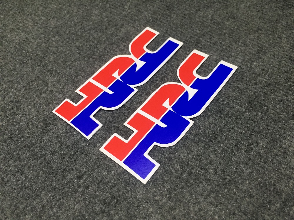 Free Shipping Motorcycle High-quality Stereo 3M Logo Car Sticker Fit For Honda Hrc