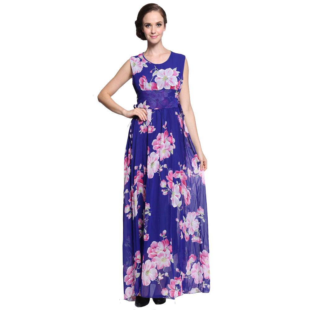 Maxi summer dress uk