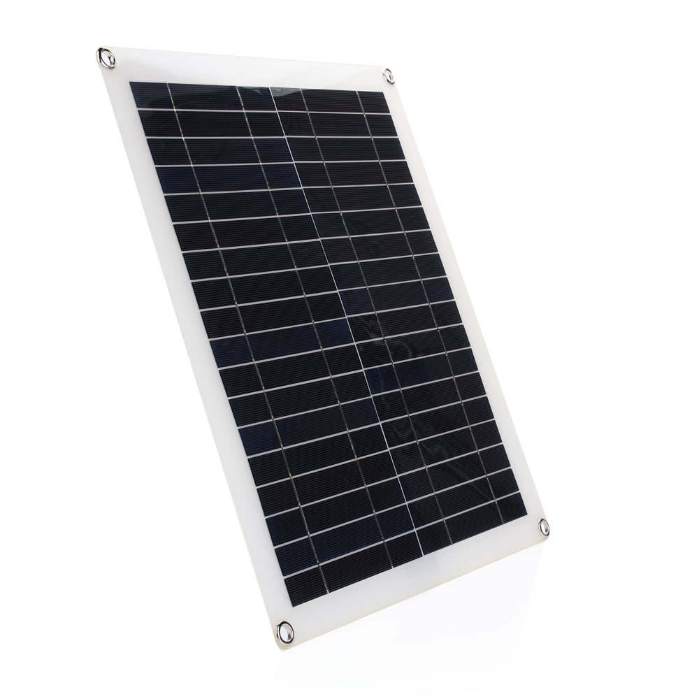 Durable Solar Charging Equipment 20W 42*37*0.3cm Polysilicon Module Travel Solar Energy Powered Camp Car Home Improvement DIY