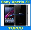 """Sony xperia z1 abierto original gsm 3g y 4g android quad-core 2 gb ram l39h c6903 c6906 5.0 """"20.7MP WIFI GPS 16 GB De Almacenamiento"""