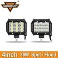 Auxbeam 36 W 4 polegadas CREE Chips de Led Luzes de Trabalho de Inundação/Spot LED Offroad Luzes de condução para Carro SUV ATV UTV 4X4 PickUp Levou Nevoeiro lâmpadas