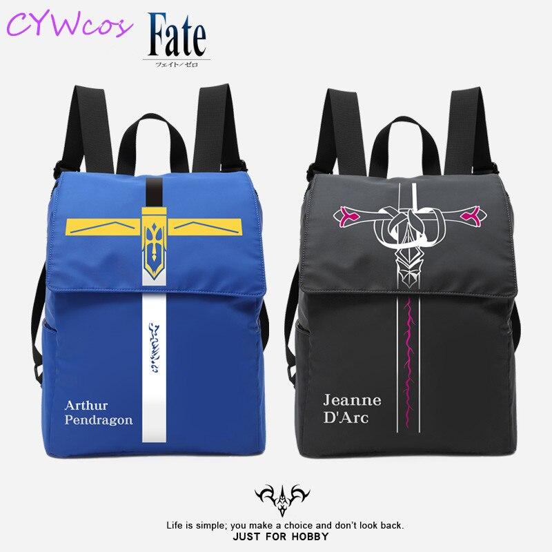 Fate Grand Order Jeanne d/'Arc Alter Black Canvas Messenger Shoulder Bag Student
