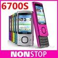 6700 S Оригинал Nokia 6700 S Bluetooth FM JAVA 5MP Разблокировки Сотовых Телефонов