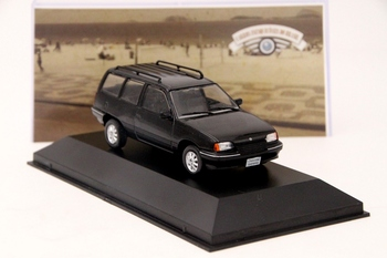 IXO 1:43 For Chevrolet Ipanema 1991 Diecast Models Collection Toys Car Gift Black image