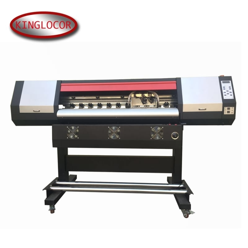 Supply Directly Large Flex Banner Vinyl XP600 Label Printing Machine Color Pigment Ink Solvent Printer