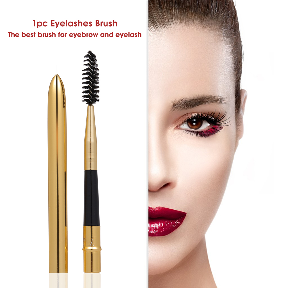 1pc Eyelashes Brush Eyebrow Comb For Applying Mascara Bullet Shape Eyelash Extension Beauty Cosmetic Makeup Brushes