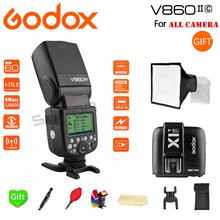 Paypal Accpect, Godox V860II-S/N/C/O/F Flash Speedlite 2.4G with Battery + XIT Trigger for Canon Nikon Sony Fuji Olympus
