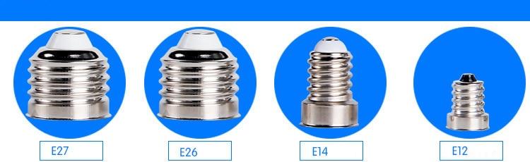LED bulb base-E27E14E12