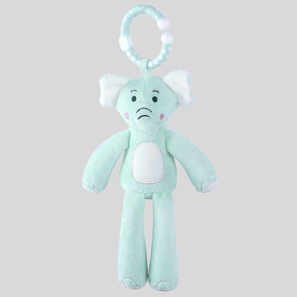 คลาสสิกของเล่นเด็ก Rattles รถเข็นเด็กแขวนของเล่นตุ๊กตาสัตว์น่ารัก Baby Crib เตียงแขวน Bells ของเล่นช้างกระต่ายสุนัข j74