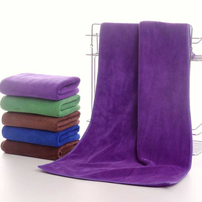 2018 New Thicken 35*75cm High absorbent microfibre dry hair beauty salon towels toalla cabello Car towel microfiber wholesale