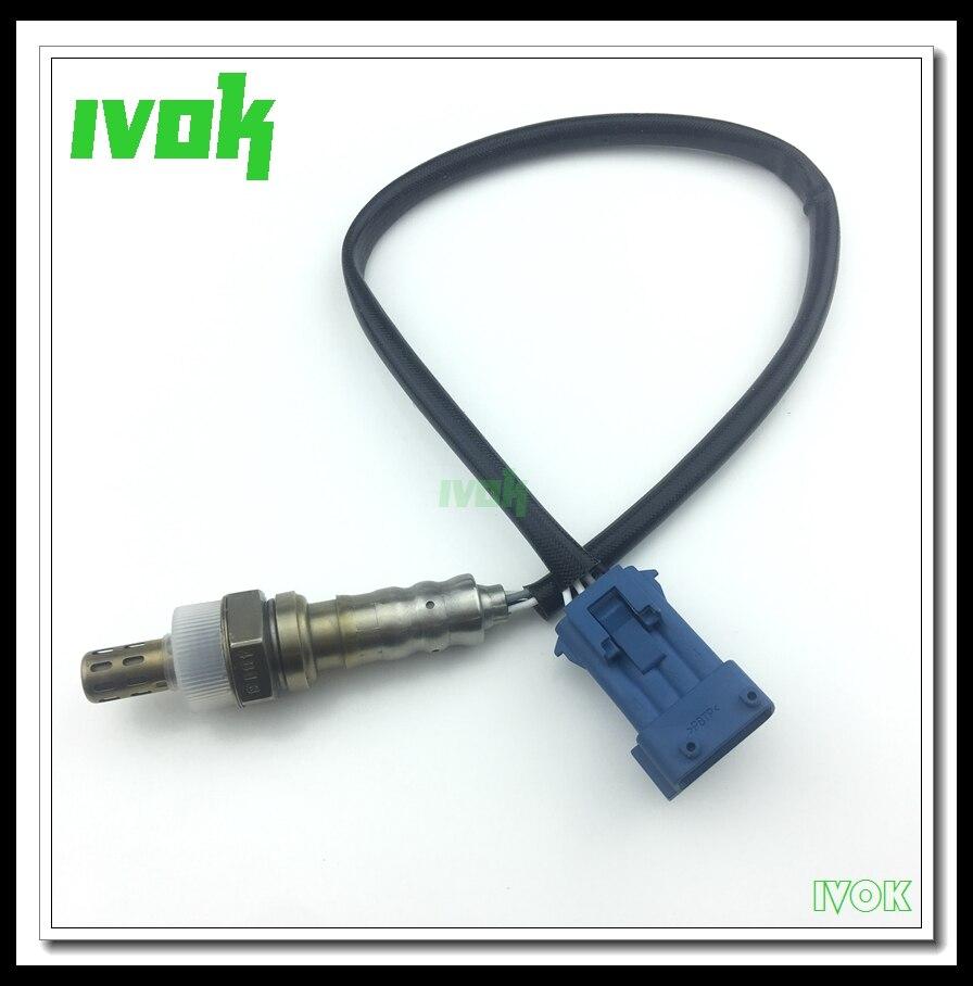 4 Wire Rear Lambda Oxygen Sensor O2 1618V3 For Peugoet 207CC 308CC SW RCZ 3008 Citroen