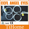 Free Shipping CCFL ANGEL EYES NON PROJECTOR HALO RINGS CCFL ANGELEYES KIT FOR LEXUS IS250
