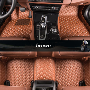 kalaisike Custom car floor mats for Honda all models civic accord fit odyssey city crz crv urv GIENIA Jade Elysion CIIMO Spirior