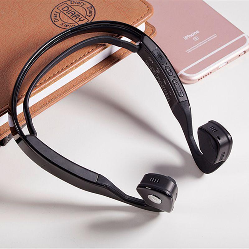 S Wear Bone Conduction Bluetooth Wireless Stereo Headset Sports Headphones Earphones Hands Free font b Speaker