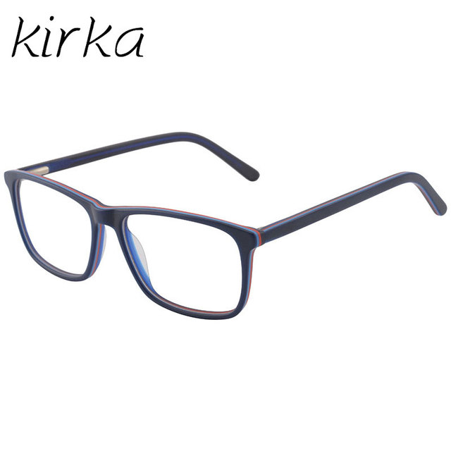 Kirka Men Glasses Frame Optical Brand Designer Men Eyewear Glass