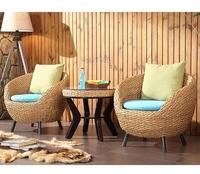 2018 новый стиль дизайн раттен стул, гостиная мебель Балконный стол и стул 2089
