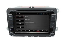 For 7″ VW Universal  with android 4 core cortex A9+3G+Wifi+Radio+BT phonebook+Ipod list +USB+Steering wheel control+ATV+DVD+VCD