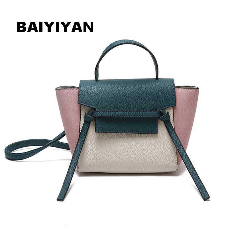 806eb9daf0 BAIYIYAN 2018 New Fall Fashion Hit Color Wings Bag High Quality Korean  Female Bag Casual Handbag