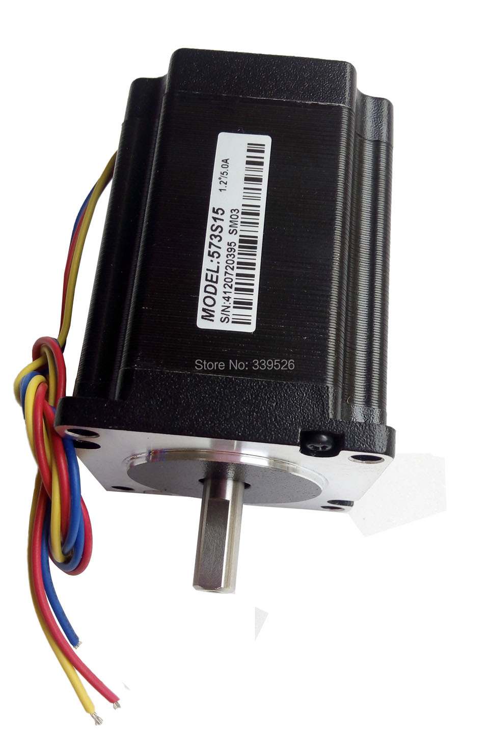 Stepper Motor 573s15 driver 3nd583 3phase 1.5nm for y axis for co2 laser cutting machine leadshine 2 phase stepping motor drive ma860h for laser engraving cutting machine stepper motor driver