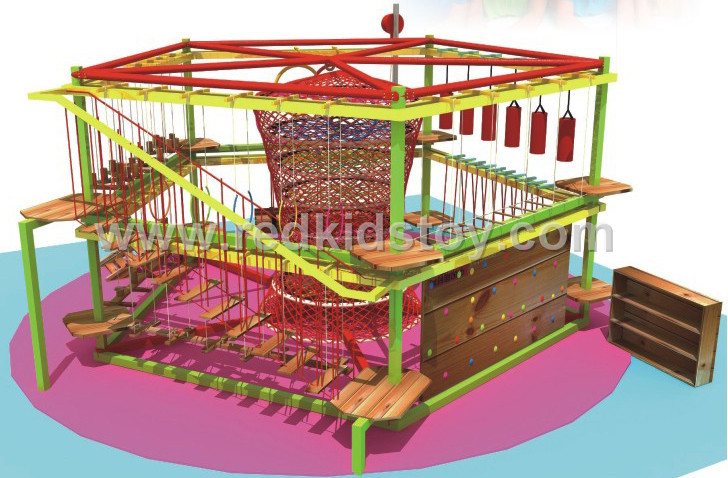 Children Indoor Outward Adventure Amusement Park HZ-065-2