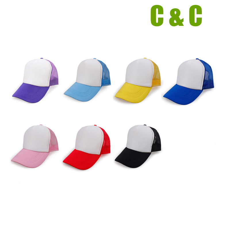 🛒 Free Shipping 10pcs Blank Sublimation Cap Hat For