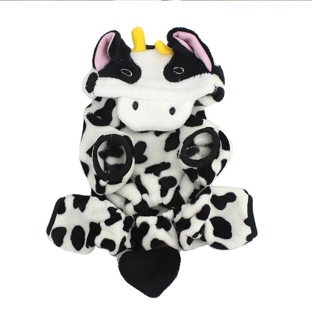 Cute Pet Dog Costume Warm Flannel Hoodies Outfit For Dog Winter Dog Clothes Puppy Jacket Chihuahua Clothes for Small Dog 20
