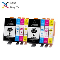 8PK Replacement ink cartridge Replacement For hp 920XL Officejet 6000 6500 Wireless 6500A 7000 7500 7500A e709 with chip Merger