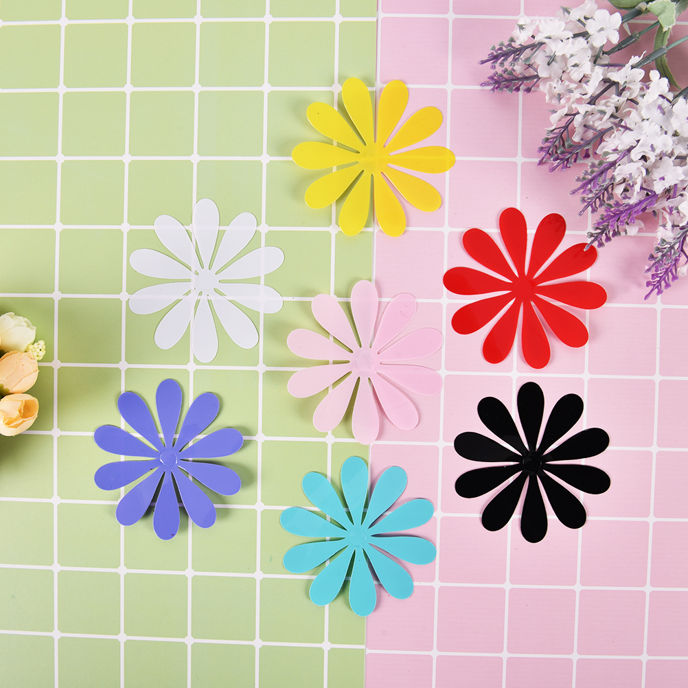 12pcs/set newest flowers PVC 3D wall sticker home Art Wall Decor ...