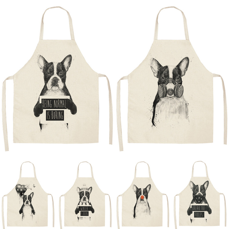Luggage & Bags 100% True High Quality 3d Printing Dogs Pattern Home Leisure Fashion Kitchen Supplies Aprons