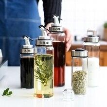 Кулинарная бутылка приправы диспенсер соус бутылка стеклянная бутылка для хранения для масла и уксуса творческие кухонные инструменты аксессуары