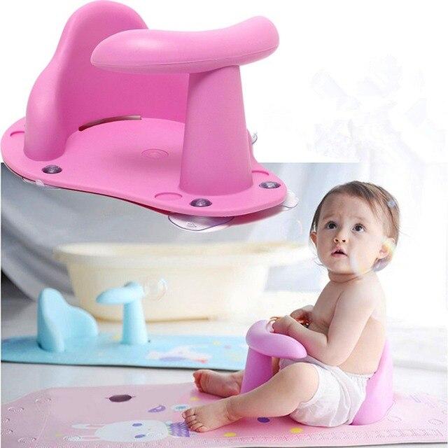 Cuatro colores bebé recién nacido bebé bañera anillo asiento niños ducha de niño chico antideslizante de seguridad silla importa 0 -24 meses