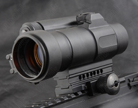 Tactical M4 1x40 Red Dot Sight Scope All Aluminum Alloy Cnc Hunting Shooting R5565