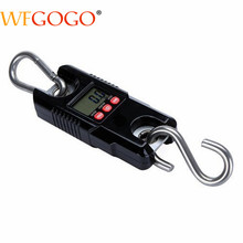 Mini Portable Crane Scale Large Capacity 300kg 0 1kg LCD Display Digital Electronic Hook Hanging Scale