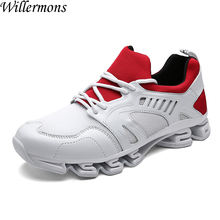 2017 New Men's Outdoor Sports Runninng Shoes Men Breathable Jogging Sneakers Shoes Male Trainers for Walking Chaussures Hombre