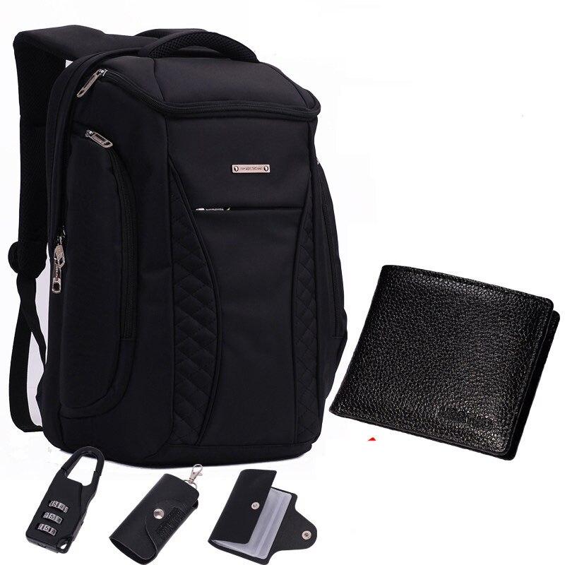 GOOG.YU Brand Cool Urban Backpack Men Unisex Light Slim Minimalist Fashion Backpack Men 14 15 Laptop Backpack school bag
