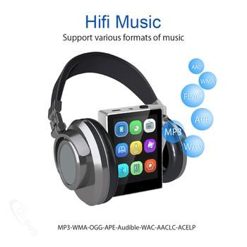 16GB 8GB MP3 Player com Bluetooth FM Radio HiFi Music Player Áudio digital sem perdas e alta resolução com gravação de vídeo E-Book 1
