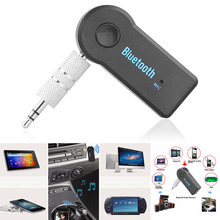 2016 Hands-Free Wireless 4.1 Bluetooth Audio Music Receiver Adapter 3.5mm Stereo A2DP Car Kit For  Music Streaming Sound System